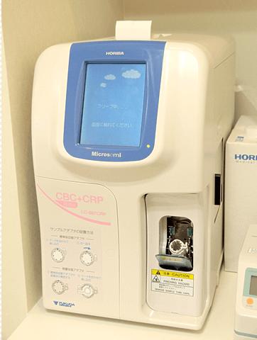 血算CRP測定