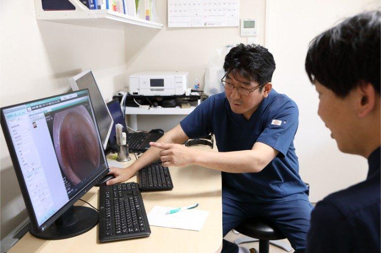 大腸カメラ(大腸内視鏡検査)検査結果のご説明