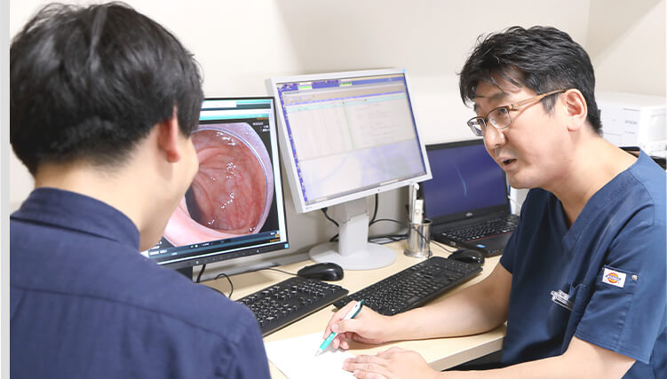 内科全般の診療に対応